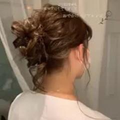 フェミニン ゆるふわ モテ髪 ロング ヘアスタイルや髪型の写真・画像