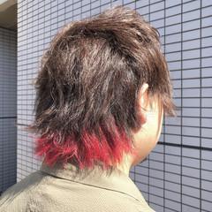 ショート モード メンズヘア シルバーグレージュ ヘアスタイルや髪型の写真・画像