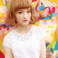 モテ髪 ストリート ガーリー ゆるふわ ヘアスタイルや髪型の写真・画像