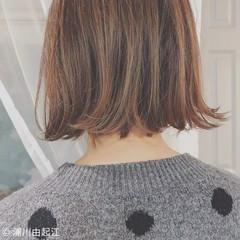 アンニュイほつれヘア フェミニン デート ボブ ヘアスタイルや髪型の写真・画像