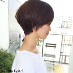 ショート モード 外国人風 ヘアスタイルや髪型の写真・画像