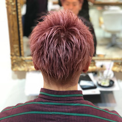ハイトーン ストリート メンズ ショート ヘアスタイルや髪型の写真・画像