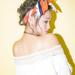 ロング ショート パーティ ヘアアレンジ ヘアスタイルや髪型の写真・画像