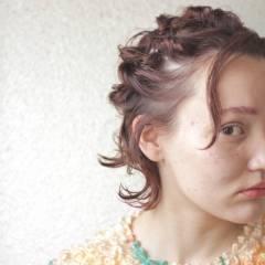 大人かわいい マルサラ 外国人風 ストリート ヘアスタイルや髪型の写真・画像