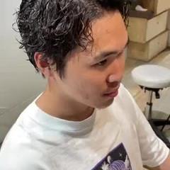 ストリート メンズスタイル メンズ メンズパーマ ヘアスタイルや髪型の写真・画像