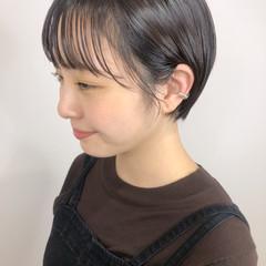 ショートヘア ガーリー ショート 小顔ショート ヘアスタイルや髪型の写真・画像