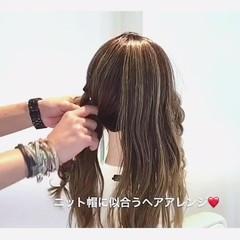 ヘアアレンジ 三つ編み ツインテール 女子会 ヘアスタイルや髪型の写真・画像