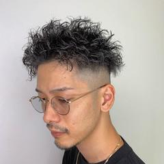 ストリート メンズカット ショート スキンフェード ヘアスタイルや髪型の写真・画像