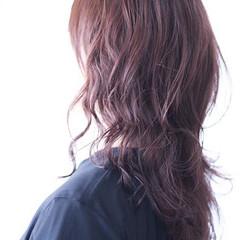 ラベンダーピンク ナチュラル ラベンダーアッシュ ラベンダーグレージュ ヘアスタイルや髪型の写真・画像