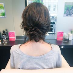女子会 デート ショート フェミニン ヘアスタイルや髪型の写真・画像