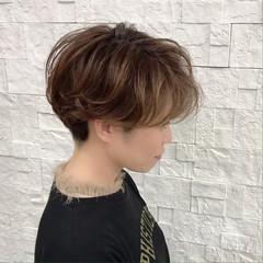 ショート 無造作 ツーブロック ベリーショート ヘアスタイルや髪型の写真・画像