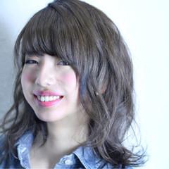 ストリート ゆるふわ 大人かわいい フェミニン ヘアスタイルや髪型の写真・画像