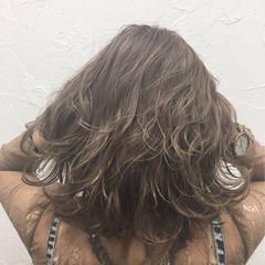 秋 アッシュ ラベンダーアッシュ 透明感 ヘアスタイルや髪型の写真・画像
