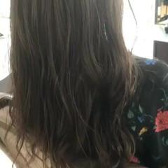 ヘアアレンジ デート セミロング 外国人風カラー ヘアスタイルや髪型の写真・画像