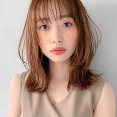 おフェロ 透明感 エレガント ひし形シルエット ヘアスタイルや髪型の写真・画像