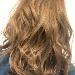 ストリート アンニュイ ミルクティーベージュ ゆるふわ ヘアスタイルや髪型の写真・画像