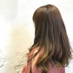 キュート ガーリー 透明感カラー インナーカラー ヘアスタイルや髪型の写真・画像