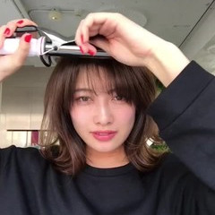 ミディアム 簡単ヘアアレンジ 簡単 ナチュラル ヘアスタイルや髪型の写真・画像