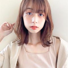 アンニュイほつれヘア インナーカラー 外国人風カラー ショートボブ ヘアスタイルや髪型の写真・画像