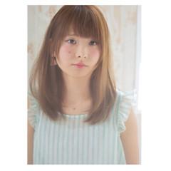 ハイライト ガーリー アッシュ 大人かわいい ヘアスタイルや髪型の写真・画像