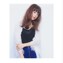 ミディアム 大人かわいい グラデーションカラー コンサバ ヘアスタイルや髪型の写真・画像