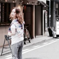 ストリート ヘアアレンジ ゆるふわ 外国人風 ヘアスタイルや髪型の写真・画像