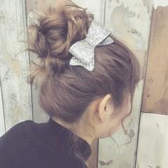 ショート 外国人風 ミディアム 簡単ヘアアレンジ ヘアスタイルや髪型の写真・画像