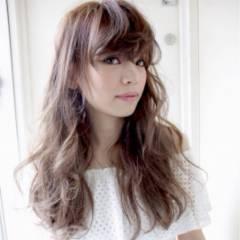 セミロング モテ髪 外国人風 ナチュラル ヘアスタイルや髪型の写真・画像