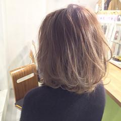 大人かわいい グラデーションカラー 外国人風 ゆるふわ ヘアスタイルや髪型の写真・画像
