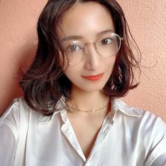 切りっぱなしボブ オルチャン ミニボブ 韓国ヘア ヘアスタイルや髪型の写真・画像