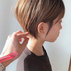 ショート ベリーショート ショートヘア 大人かわいい ヘアスタイルや髪型の写真・画像