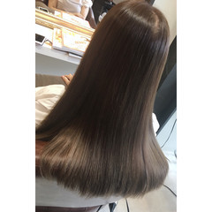 女子会 外国人風 リラックス セミロング ヘアスタイルや髪型の写真・画像