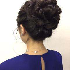 福岡市 ロング ヘアアレンジ 結婚式 ヘアスタイルや髪型の写真・画像