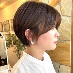 ショートヘア マッシュショート ショート ショートボブ ヘアスタイルや髪型の写真・画像