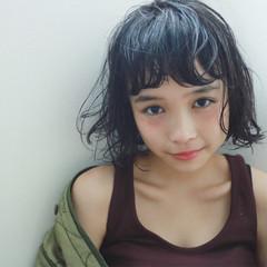 ショート 外国人風 暗髪 黒髪 ヘアスタイルや髪型の写真・画像