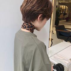 ショート ヘアアレンジ 大人ショート 大人可愛い ヘアスタイルや髪型の写真・画像