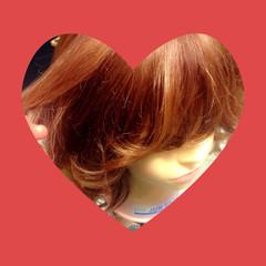 外国人風 レイヤーカット ボブ ガーリー ヘアスタイルや髪型の写真・画像