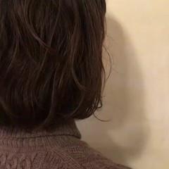 ボブ エアリー くせ毛風 パーマ ヘアスタイルや髪型の写真・画像