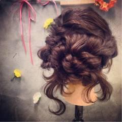 ヘアアレンジ パーティ コンサバ アップスタイル ヘアスタイルや髪型の写真・画像