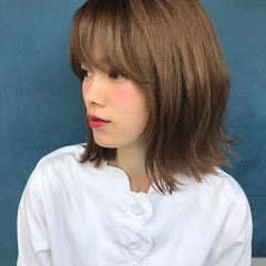 フェミニン 透明感 秋 ナチュラル ヘアスタイルや髪型の写真・画像