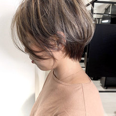 ベリーショート アンニュイ ナチュラル ショートヘア ヘアスタイルや髪型の写真・画像