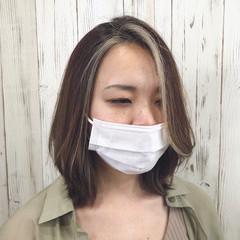 韓国ヘア ブリーチ レイヤースタイル ナチュラル ヘアスタイルや髪型の写真・画像