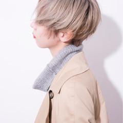切りっぱなし 小顔 大人女子 外国人風 ヘアスタイルや髪型の写真・画像