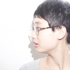 ナチュラル 黒髪 ショート ベリーショート ヘアスタイルや髪型の写真・画像
