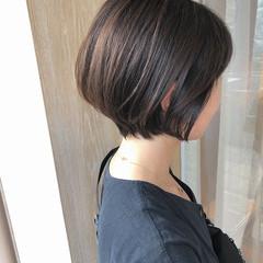 ショートヘア ショートボブ 横顔美人 ショート ヘアスタイルや髪型の写真・画像