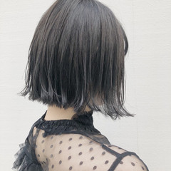 抜け感 モード ボブ 外ハネ ヘアスタイルや髪型の写真・画像