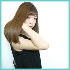 暗髪 ストレート ロング 大人かわいい ヘアスタイルや髪型の写真・画像