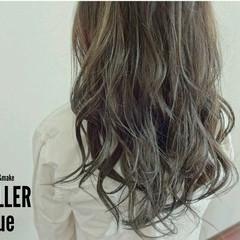 ロング アッシュ 外国人風 ストリート ヘアスタイルや髪型の写真・画像