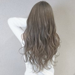 フェミニン 外国人風カラー ロング 愛され ヘアスタイルや髪型の写真・画像