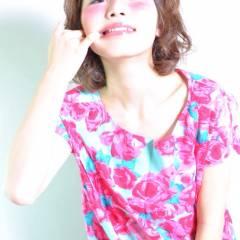 ガーリー パーマ ストリート モテ髪 ヘアスタイルや髪型の写真・画像